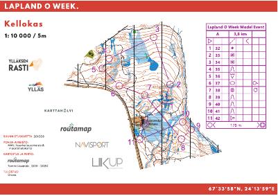 Lapland O Week Model