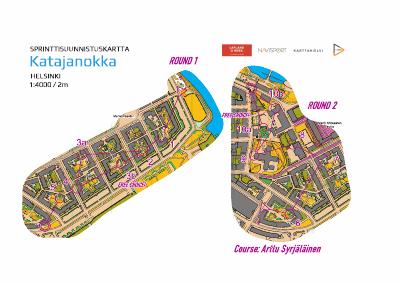 Sprinttiakatemia knock out Katajanokka