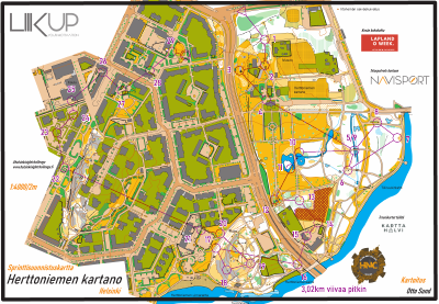 Helsinki Night Challenge 2021, Herttoniemen kartano