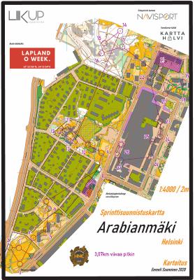 Helsinki Night Challenge 2021, Arabianmäki