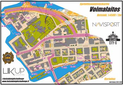 Helsinki Night Challenge A-rata, Salmisaaren Voimalaitos