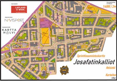 Helsinki Night Challenge 2021, Josafatinkalliot